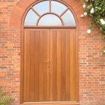 Arched Entrance Timber Doors