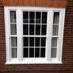 White Timber Sash