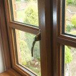 timber window interior