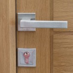 Contemporary handle ironmongery
